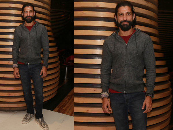 Farhan Akhtar rugged look