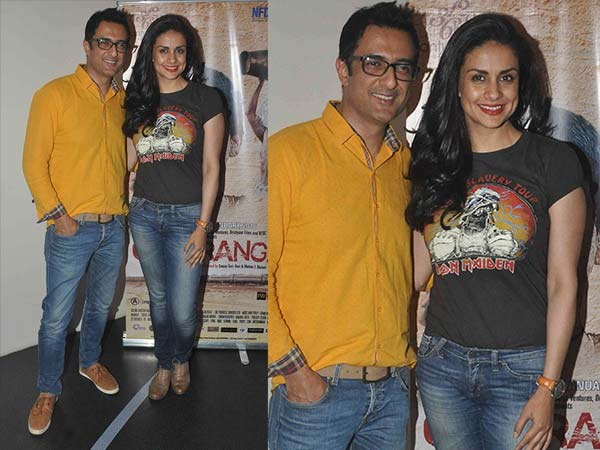 Gul Panag In Iron Maiden Tee