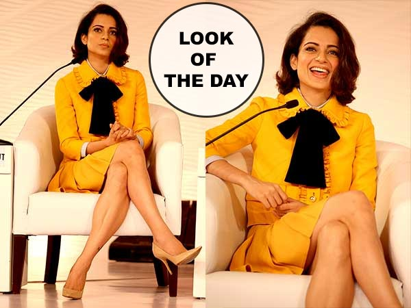 Kangana - Look of The Day