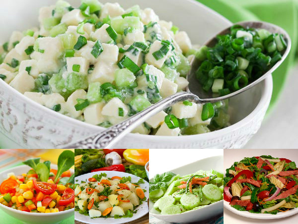 Nutritious Healthy Ingredients For Salads