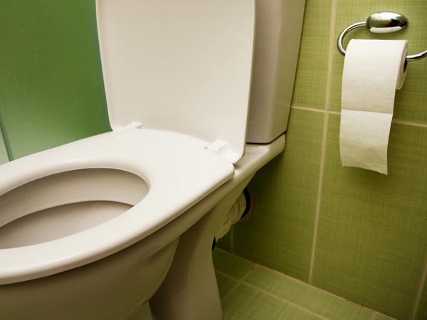 Why should you squat while pooping
