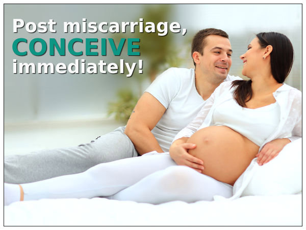 After Miscarriage Conceive Immediately! - Boldsky.com