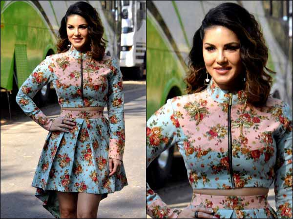 Sunny Leone promoting Mastizaade