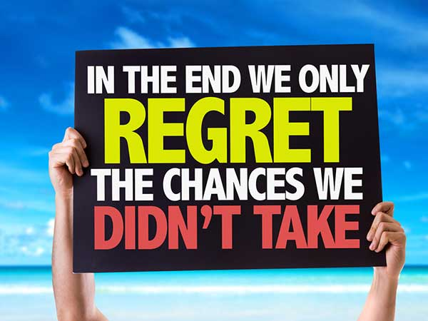 Stop Regretting! Want To Know Why?