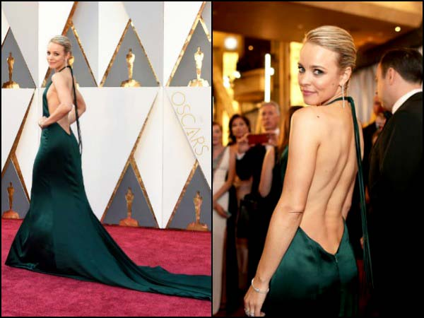Backless Gowns Rule The Red Carpet At The Oscars 2016 ...