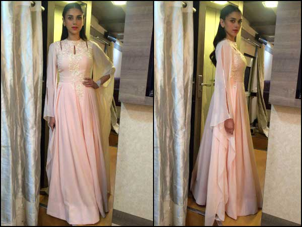 Image result for aditi rao hydari pink anarkali
