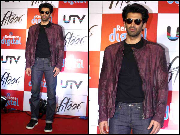 Aditya for Fitoor promotions
