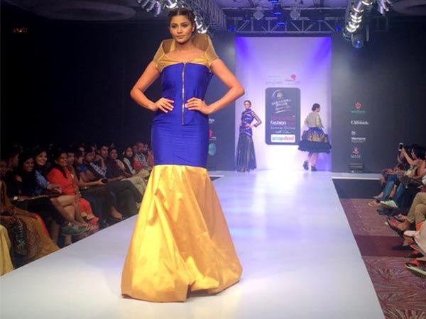First look at bangalore fashion week 2016 collection straight from runway boldsky Bangalore fashion style week