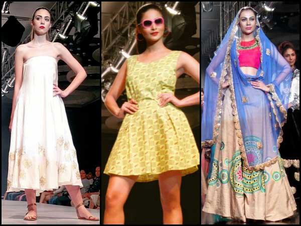 Bangalore fashion week day 2 collection highlights boldsky Bangalore fashion style week