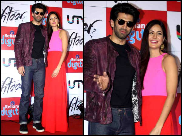 Fitoor lead couple