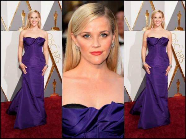 Reese Witherspoon Purple Dress