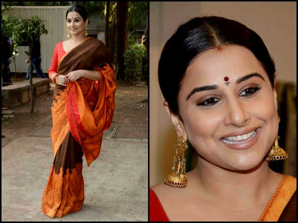 Vidya Balan earrings