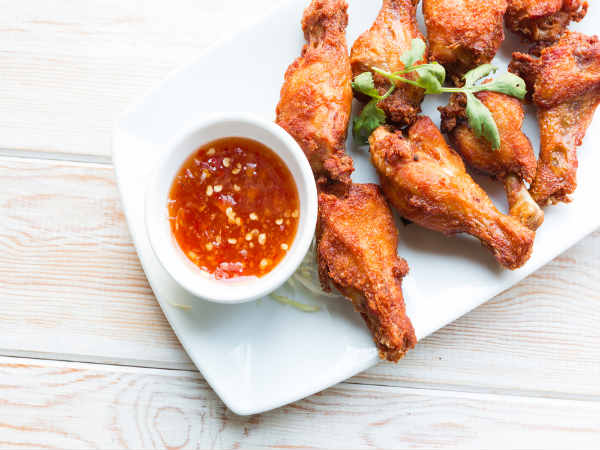 Spicy Thai Chicken Wings Recipe