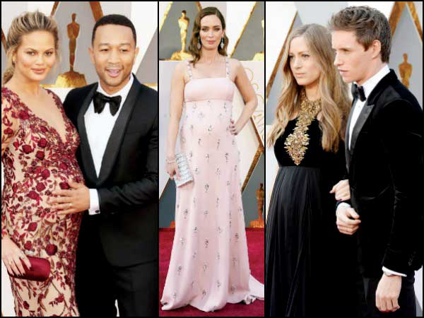 pregnant celebrities 2016 oscars