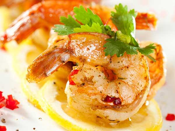 Spicy And Tasty Lemon Dip Shrimp Recipe