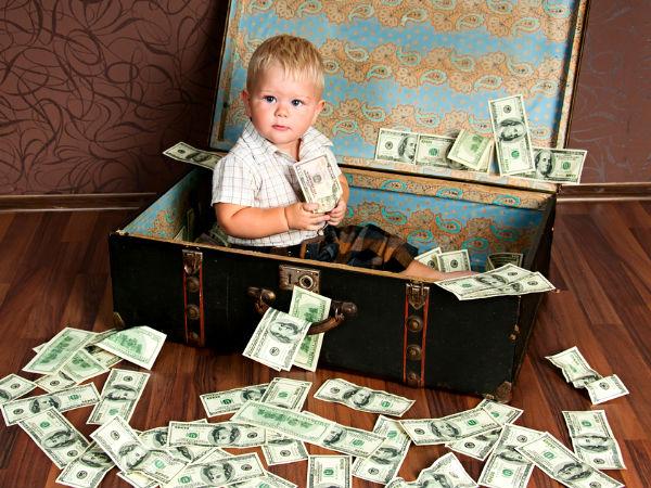 10 millonarios menores de edad