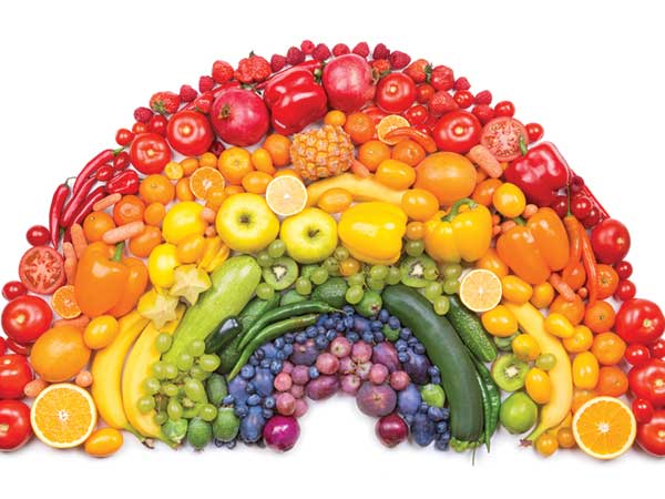 Rainbow Foods For Your Beauty