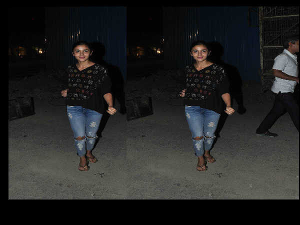 Alia Bhatt in casuals