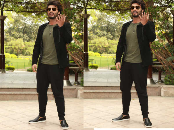 Arjun Kapoor promoting Ki and Ka