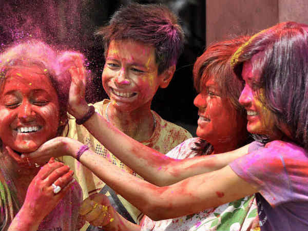 Holi: Story Behind Festival Of Colours