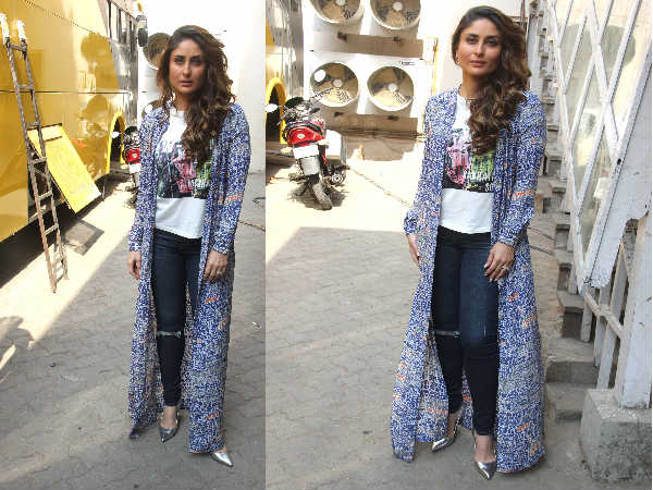 Kareena promotiong Ki and Ka