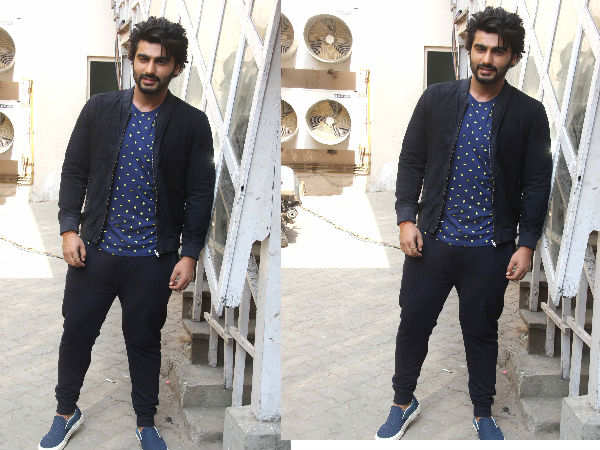 Arjun Kapoor in blue loafers