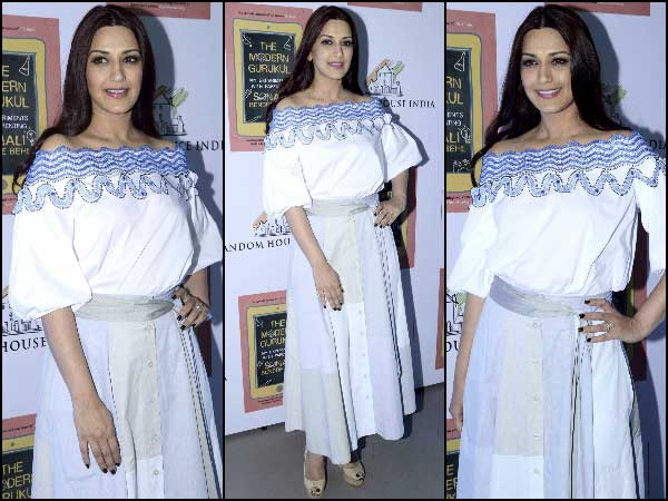 Sonali Bendra at her book launch
