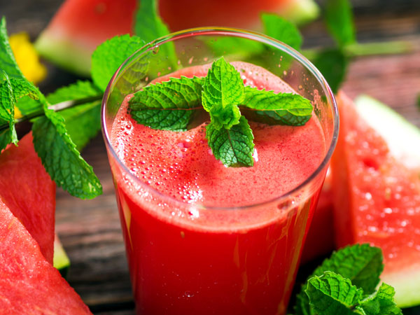 Watermelon Smoothie Recipes For Detoxification