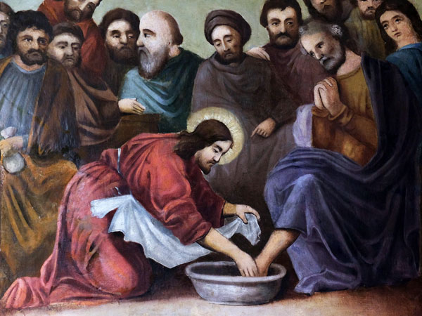 Image result for jesus washing the feets