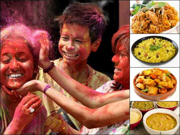 Special Bengal Recipes For Holi