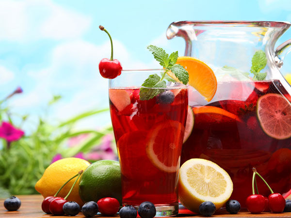 Super Summer Drink Fruit Punch With Ice Cream Recipe.html