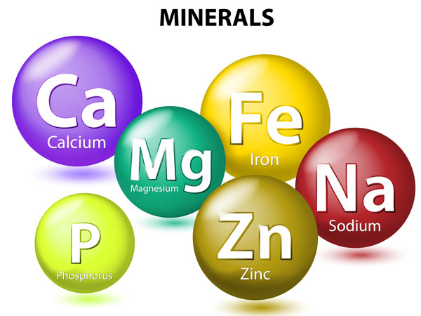 Importance of minerals for our body for Importance of soil minerals