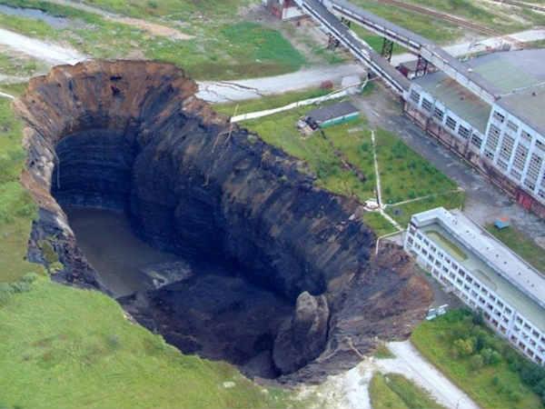 berezniki sinkh... Hole In Russia