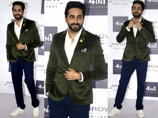 ayushmann khurrana for arrow