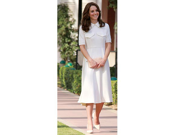 kate middleton wool crepe dress