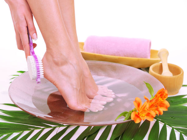 DIY Recipe for Foot Scrub