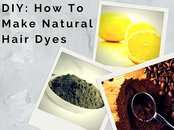 DIY: How To Make Natural Hair Dye At Home