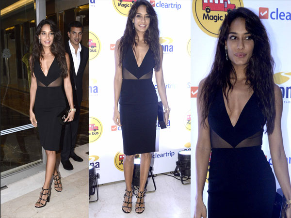 lisa haydon at charity event
