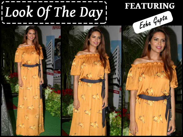 esha gupta look of the day