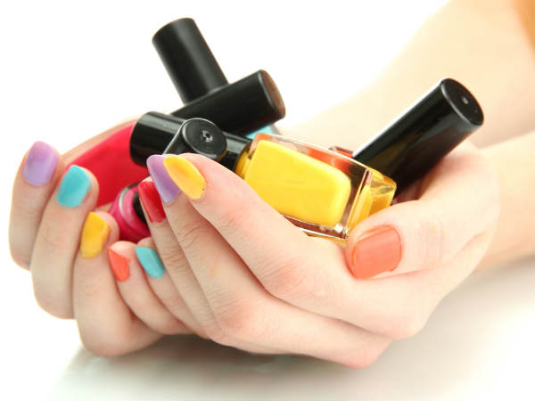 how to apply gel based manicure