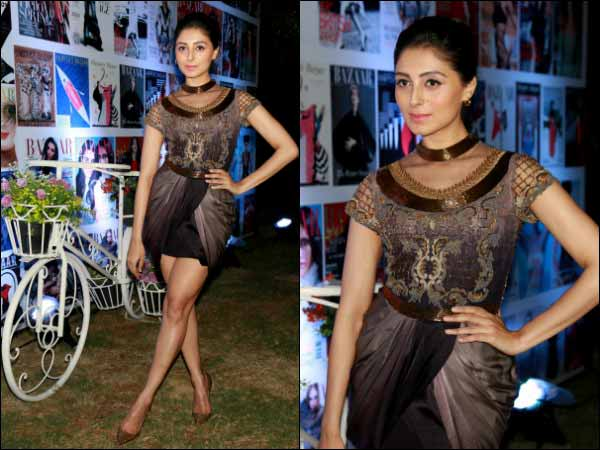 pernia qureshi at harpers bazaar party