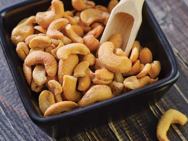 how do cashews help with depression