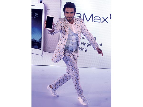 In printed suit