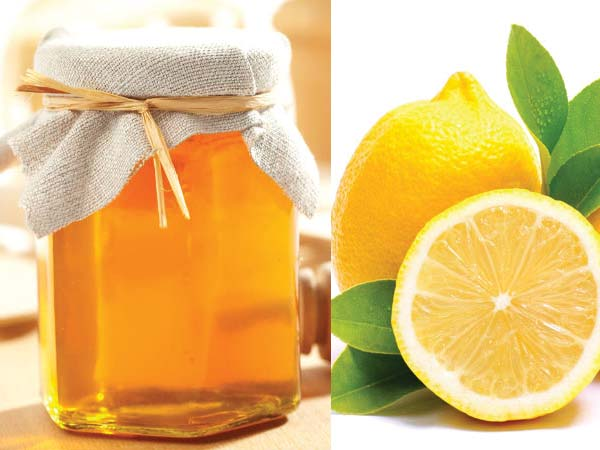 lemon to clear dark circles