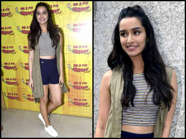 look of the day shraddha kapoor