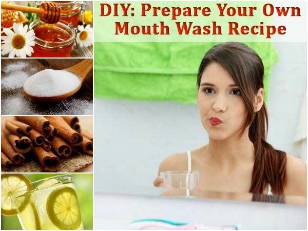Diy Prepare Your Own Mouth Wash Recipe