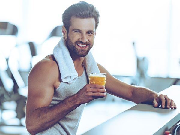 drink recipes to have after gym