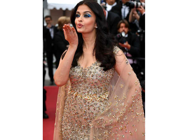 Aishwarya's first red carpet look at Cannes
