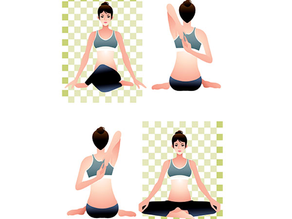 Yoga to increase breast size