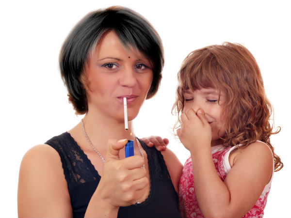 Indoor Smoking Affects Your Kid's Health